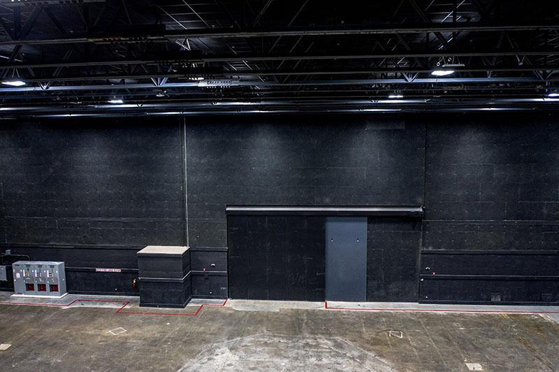 Stage 1 at Third Rail Studios: easy access via elephant doors
