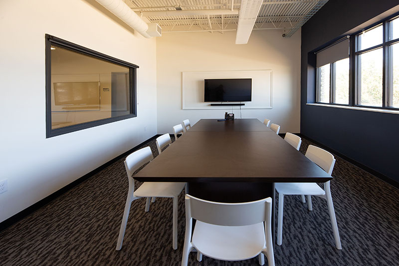 Suite 1 conference room with Smart TV & sound bar office space